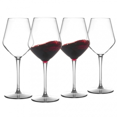 MICHLEY Unbreakable Stemmed Wine Glass 100% Tritan Dishwasher safe Glassware 15 oz